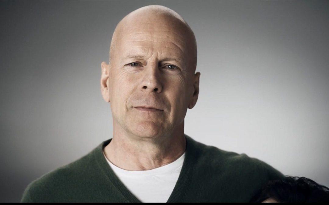 Bruce Willis tartamudo ¿Qué te parece?